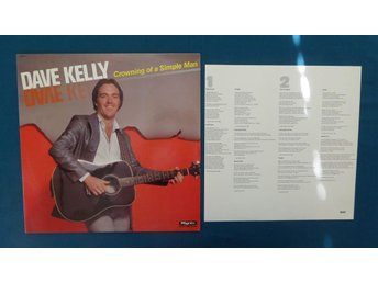DAVE KELLY - LP - CROWNING OF A SIMPLE MAN - ROCK 1980!!!