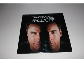 Face / Off  laser disc film i fint skick