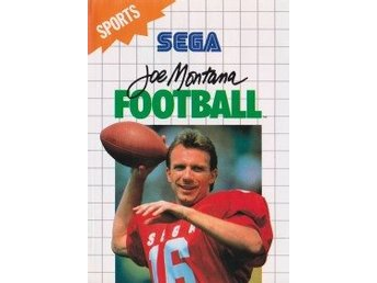 Joe Montana Football (Ej Bok) (Beg)