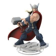 Figurer Wii PS4 PS3 PC Xbox 360 Disney Infinity - Thor Tor