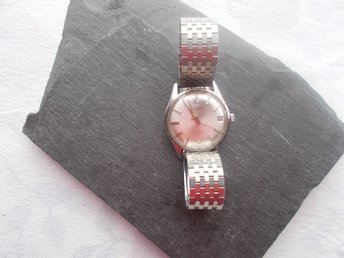MKT. FIN HERR ARMBANDS UR / HELVETIA AUTOMATIC    !!!! 27 JEWELS  !!!!!