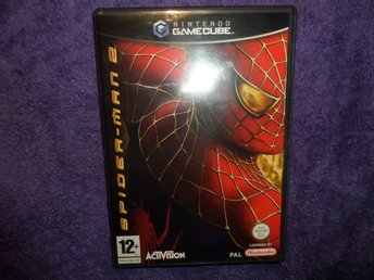 SPIDER-MAN 2  GAMECUBE PAL ENGELSK MANUAL