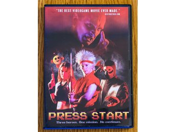 Press Start - Första utgåvan - DVD Regionsfri Tv-spels-komedi 2007