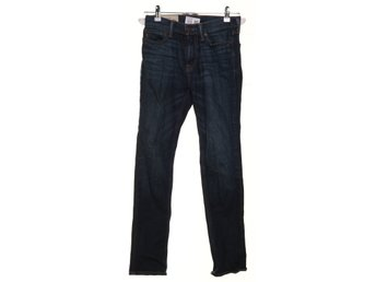 Abercrombie & Fitch, Jeans, Strl: 28/28, Blå