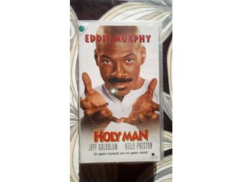 NY! VHS: HOLLY MAN (Eddie Murphy, Jeff Goldblum) 1998 komedi