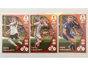 Panini Adrenalyn FIFA World Cup 2018 Fans favourite 3st