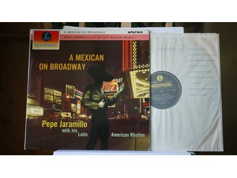 Pepe Jaramillo - A Mexican On Broadway    LP   1962