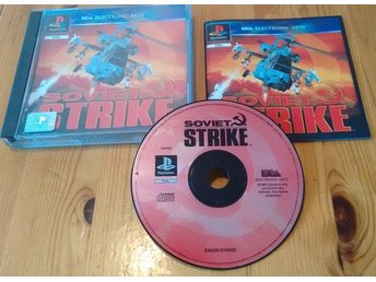 Playstation PS1 PAL Soviet Strike Komplett