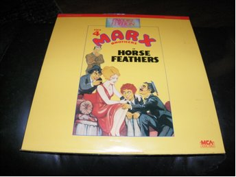 Horse Feathers - The 4 Marx Brothers - Encore Edition - 1st Laserdisc