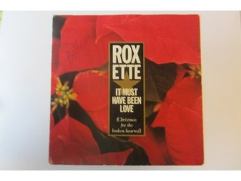 "ROXETTE  singel omslag ""It Must Have Been Love/Turn To Me""   1987"