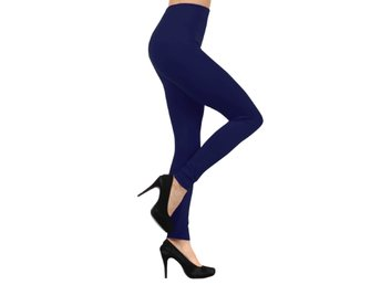 NYTT X-LARGE TERMO GIRLS EXTRA WARM NAVY BLUE TERMO LEGGINGS