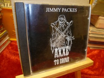 JIMMY PACKES , CD , AXXE TO GRIND , Utgiven 1993