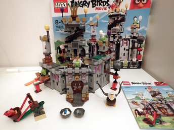 *** LEGO The Angry Birds Movie 75826 Kung Gris Slott ***