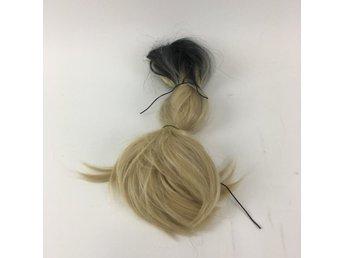 5c281d9e1487 Löshår, Ombre svart/blond, Svart/Gul (340323416) ᐈ Sellpy på Tradera