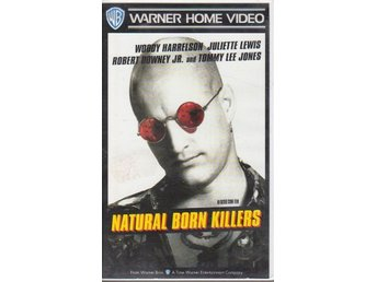 NATURAL BORN KILLERS VHS-film
