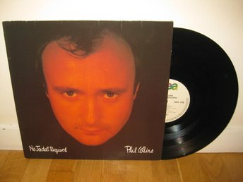 PHIL COLLINS - No jacket required LP 1985 / Peter Gabriel