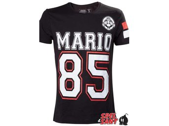 Nintendo Streetware Mario 85 T-shirt Svart (Medium)
