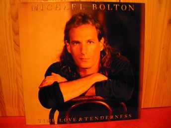 Michael Bolton. Time,Love & Tenderness.Europe 1991.