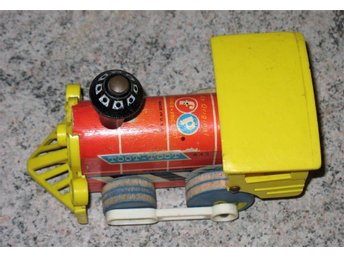 Fisher Price Toot Toot Train Pull Toy 1964