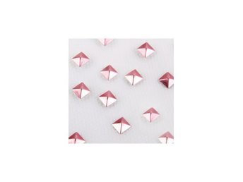 Charmsies Rose Gold Pyramid Studs Wild