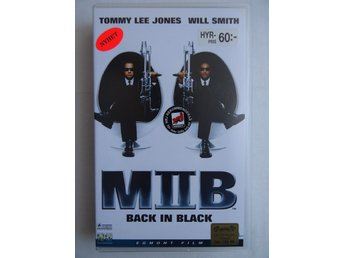 VHS film - Men In Black II (Back in Black) - Tommy Lee Jones / Will Smith