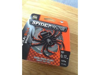 Spiderwire 0.17. 30-50% rabatt.