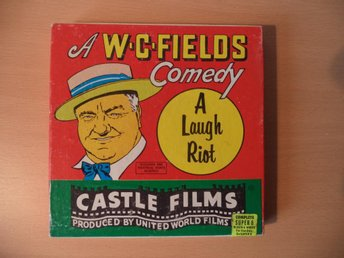 "The Great Chase 5"" Super 8 a W.C. Fields Comedy a Laugh Riot"