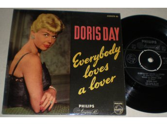 Doris Day EP/PS Everybody loves a lover 1958