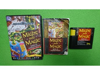 Might and Magic KOMPLETT Sega Megadrive 16-bit