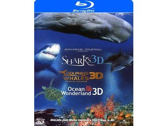 Jean-Michel Cousteau: Sharks, Dolphins and... (3 Blu-ray 3D)