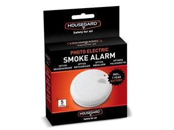Javascript är inaktiverat. - Nossebro - När en brand uppstår är varje sekund viktig. Brandvarnaren ger dig första varningen vid brand. Housegard optisk brandvarnare reagerar snabbt och med stark signal.- Detektionsprincip: Optisk detektionskammare- Batteri detektion: 9V batteri-  - Nossebro