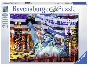 Ravensburger New York kollage 2000 bitars Pussel