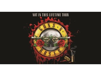 Guns n Roses Ullevi Göteborg 21 juli 2018 1 st. stå golden circle