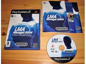 PS2: LMA Manager 2004