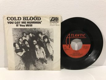 Cold Blood - You Got Me Hummin (ATL 70 416) SWEDEN RARE