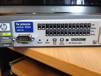 hp procurve switch 2524 J4813A