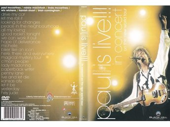 DVD Paul is live  Paul McCartney