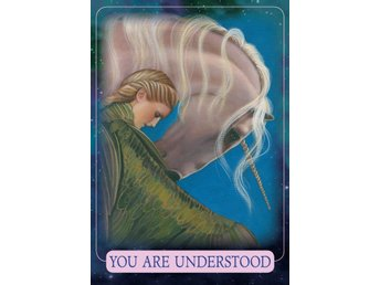 Indigo Angel Oracle Cards av Doreen Virtue - NY INPLASTAD. Tarot New Age.