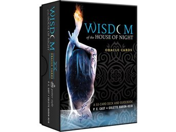 NY INPLASTAD - Wisdom of the House of Night Oracle Cards  A 50-card Deck