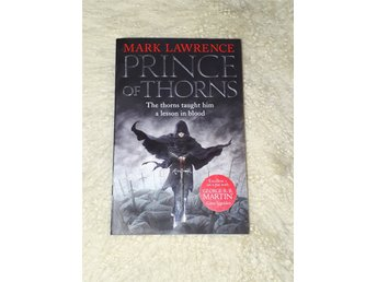 Prince of thorns av Mark Lawrence (häftad, fantasy, engelska  jul)