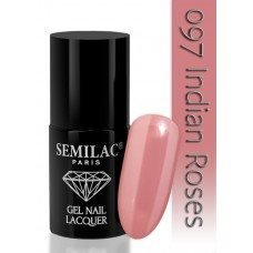 7 ml Gellack - Semilac - 097 Indian Roses