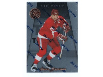 97-98 Pinnacle Certified Steve Yzerman