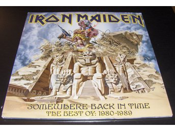 "Iron Maiden ""Somewhere Back in Time - The Best of 1980-1989"" PICTURE DISCS"