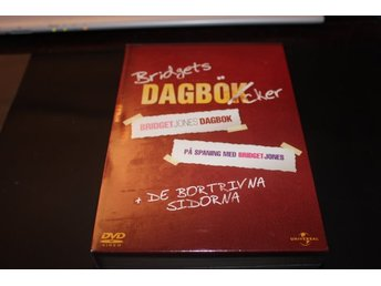 Dvd-box: Bridget Jones dagbok + På spaning efter Bridget Jones + bonusdisc
