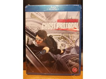Mission Impossible 4 - Ghost Protocol (Blu-ray) Oöppnad