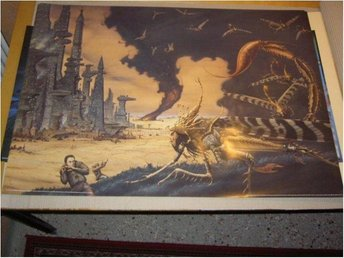 Rodney Matthews - Fantasy Art 22 (Future city)