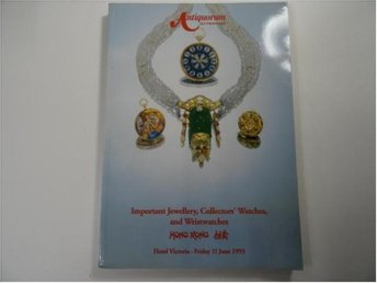 important jewellery , collectors,watches and wristwatches auktionkatalog 1993