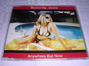 Butterfly Jones - Anywhere But Now CDS 2trk Germany 01 Mint