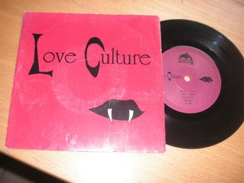 LOVE CULTURE Love culture Ensidig 45/ps 1990 Udda svensk synth/electronic!!