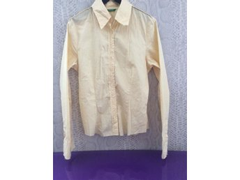 Benetton skjorta bomull stl S - Lund - Benetton skjorta bomull stl S - Lund